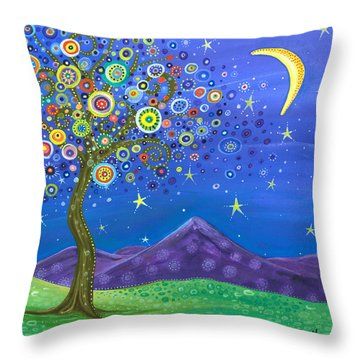 Believe In Your Dreams Throw Pillow by Tanielle Childers