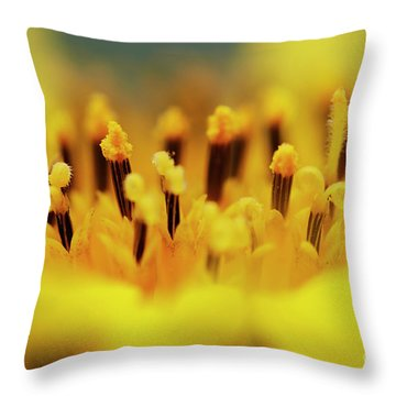 Bloom Throw Pillow by Michal Boubin