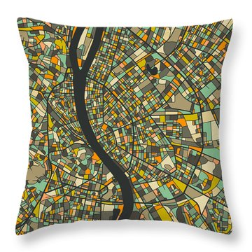 Budapest Throw Pillows