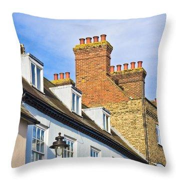 Building Detail Throw Pillow
