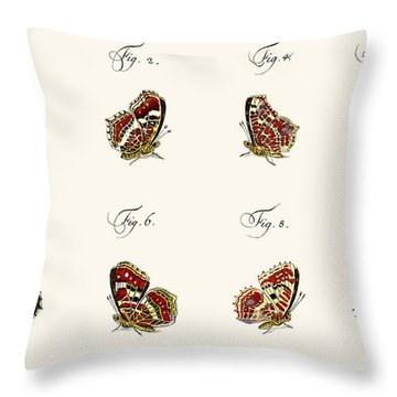 Butterflies Throw Pillow