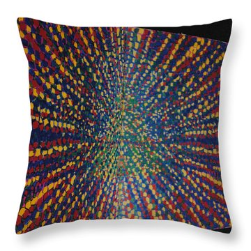 Butterfly Dream Throw Pillow by Kyung Hee Hogg