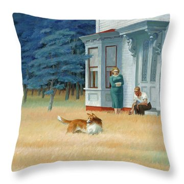 Cape Cod Evening Throw Pillow