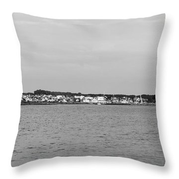 Coastline At Molle In Sweden Throw Pillow