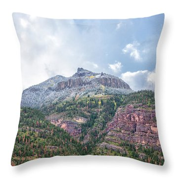 Colorado Fall Foliage 3 Throw Pillow