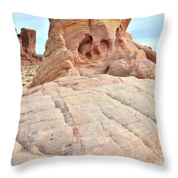 Throw Pillow featuring the photograph Colorful Castle In Valley Of Fire by Ray Mathis