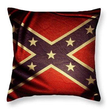 Confederate Flag 6 Throw Pillow