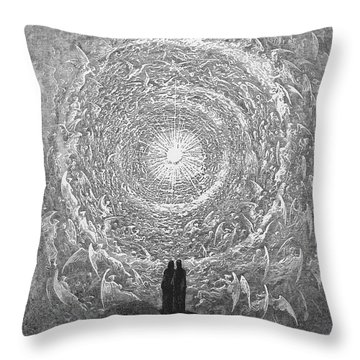 Dante: Paradise Throw Pillow