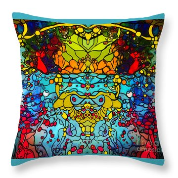 Ethereal Precision  Throw Pillow