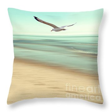 Throw Pillow featuring the photograph Desire Light Vintage by Hannes Cmarits