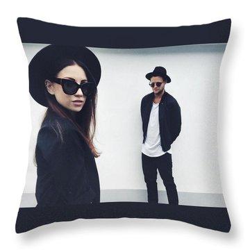 Emma Throw Pillow by Gun Legler