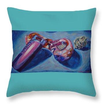 3 Essentials Throw Pillow by Anita Toke