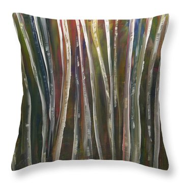 Fantasy Forest Series Throw Pillow by Dolores  Deal