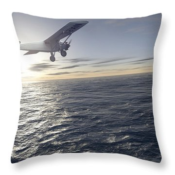 Spirit Airlines Throw Pillows