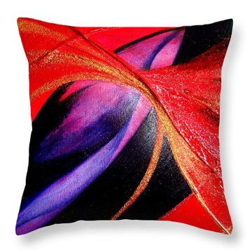 Fusion Throw Pillow