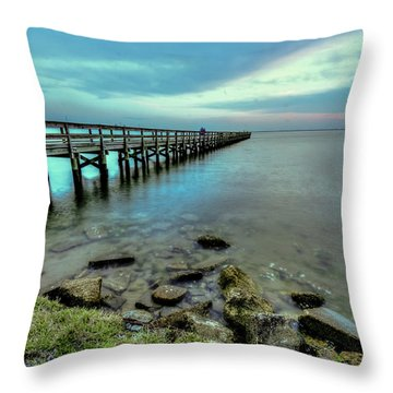Hilton Pier Throw Pillow
