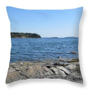 In Stensund Throw Pillow