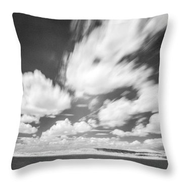 Infrared Landscape Throw Pillow