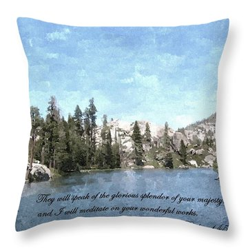 Inspirations 1 Throw Pillow