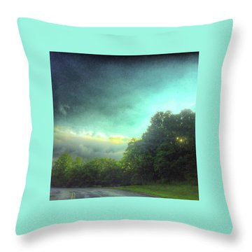 3 June 16 Throw Pillow