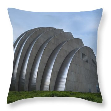 Kauffman Center Throw Pillow