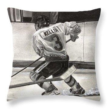 #3 Keller  Throw Pillow