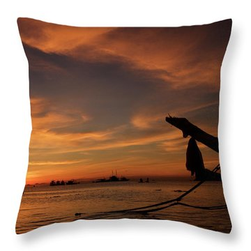 Koh Tao Island In Thailand Throw Pillow