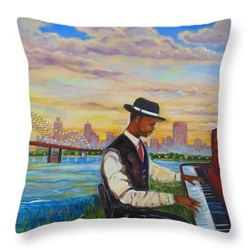 Memphis Throw Pillow