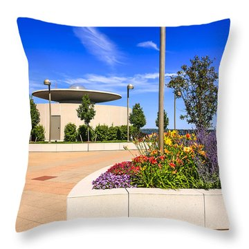 Monona Terrace Madison Throw Pillow