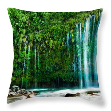 Mossbrae Falls Throw Pillow