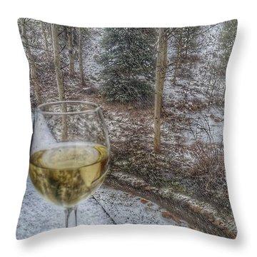 Mountain Living Throw Pillow