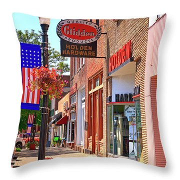 Murfreesboro Tn, Usa Throw Pillow