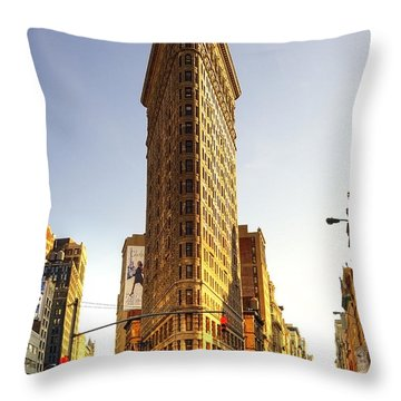 New York Throw Pillow by Svetlana Sewell