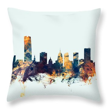 Oklahoma City Throw Pillows