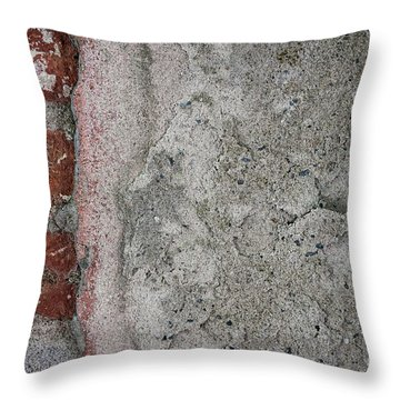 Throw Pillow featuring the photograph Old Wall Fragment by Elena Elisseeva