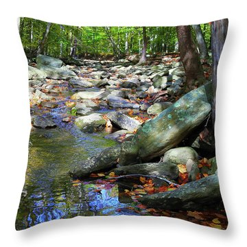 Throw Pillow featuring the photograph Peace by Mitch Cat