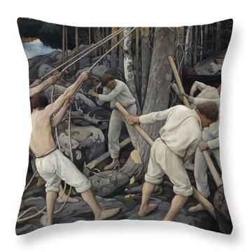 Pekka Throw Pillows