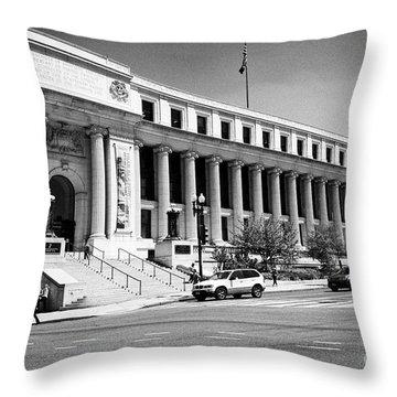 Smithsonian Museum Throw Pillows