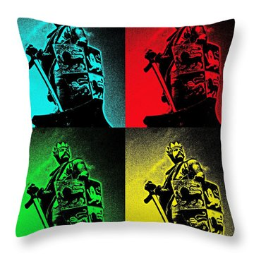 Prince Of Wales Throw Pillow