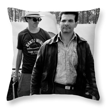 Raiders Throw Pillow