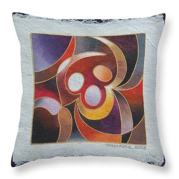 Reki II - Dance For Joy Throw Pillow