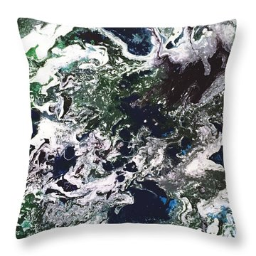 Space Odyssey 2 Throw Pillow