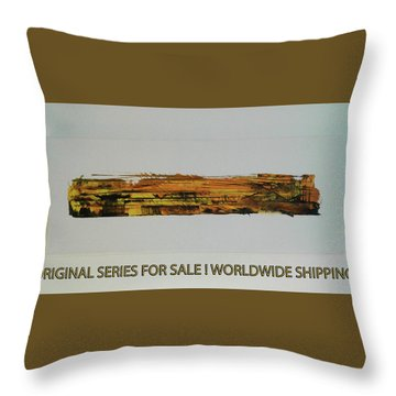 Series Abstract Worlds Only Originals For Sale Worldwide Shipping Throw Pillow