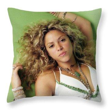 Shakira Throw Pillows