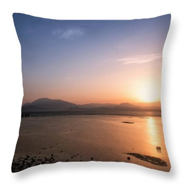 Throw Pillow featuring the photograph Sirmione by Traven Milovich