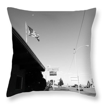 Small Town Life Throw Pillow