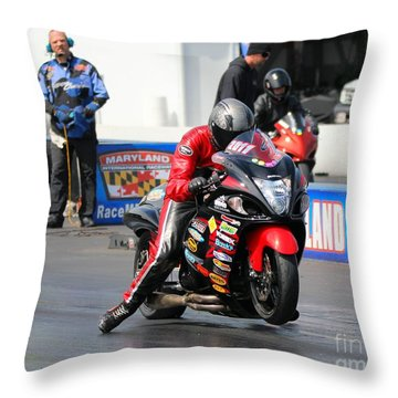 Spencer Claycomb 2015 Throw Pillow