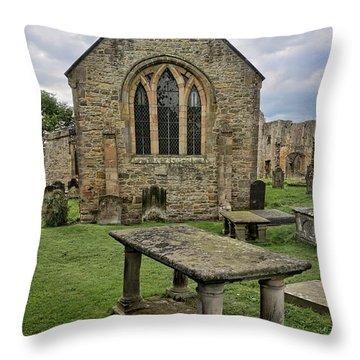 St Agathas Throw Pillow