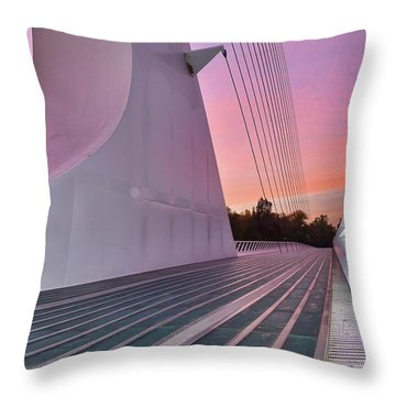 Sundial Bridge Throw Pillow