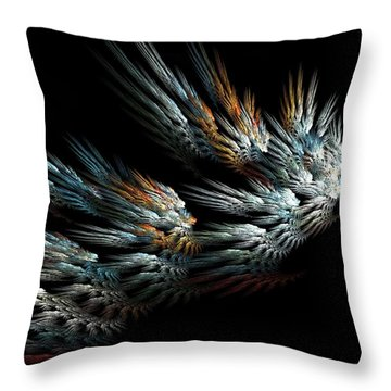 Taking Wing Throw Pillow